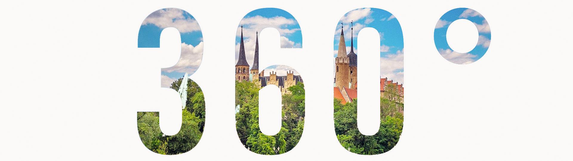 360° Panorama Naumburger Dom